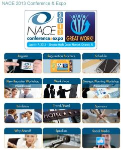 The NACE 2013 Conference home page