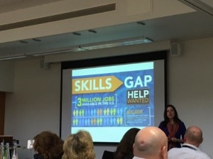The skills gap holds some new graduates back.
